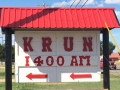 KRUN Sign After