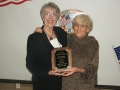 Jennie Fulton was named as Citizen of the Year by the Ballinger Junior Chamber of Commerce