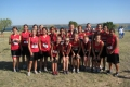 Ballinger Junior High Girls Cross Country Team in Robert Lee