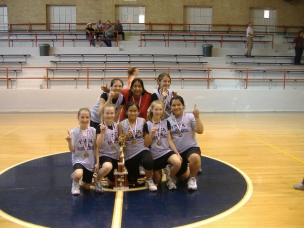Ballinger Ladycat 6th Grade Team Wins 1st Place In YMCA ...