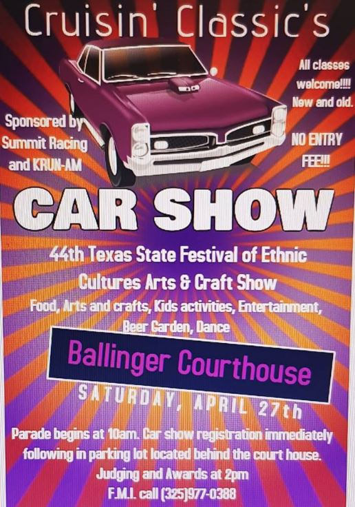 2019 Car Show Flyer - Copy