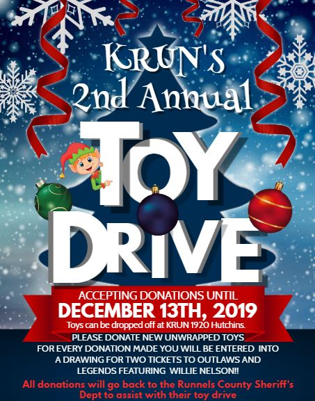 2019 Sheriffs Dept Toy Drive Flyer