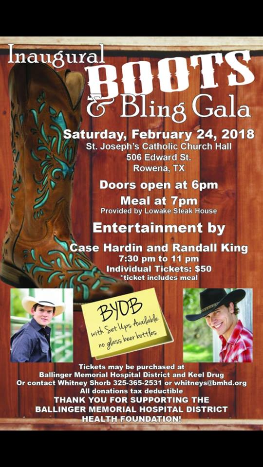 Boots and Bling Gala 2018
