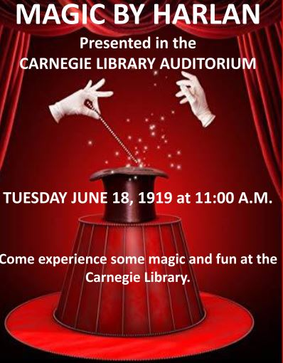 Carnegie Library Magic Show