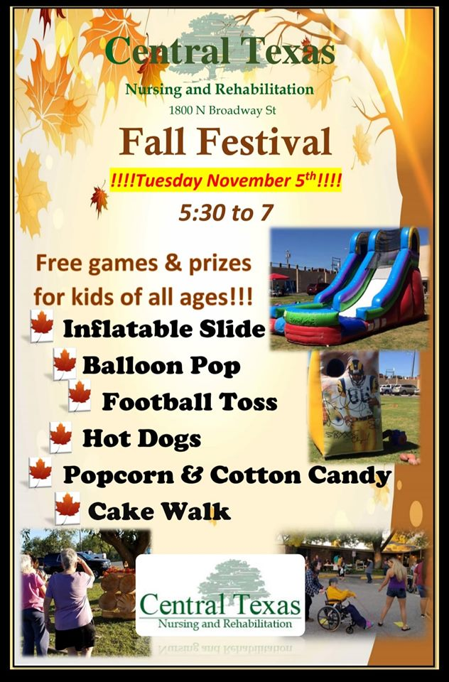 Central TX 2019 Fall Fest