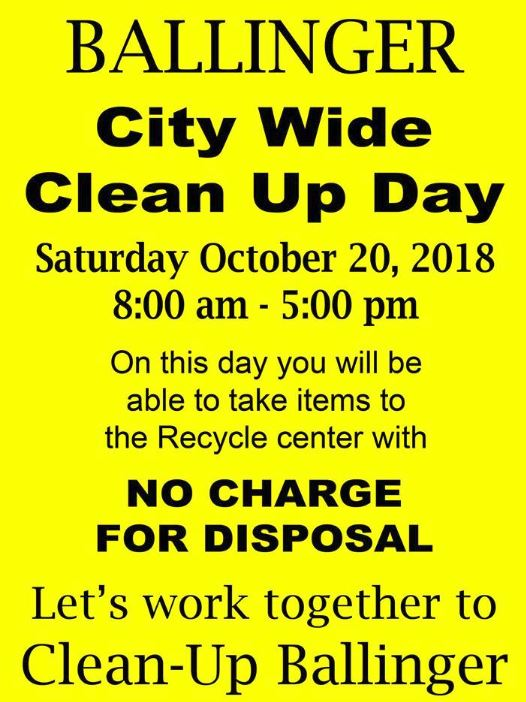 City Wide Clean Up 2018