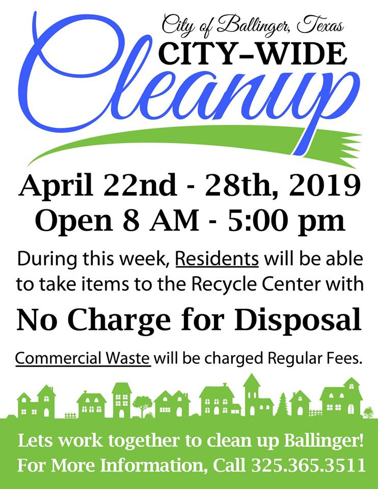 City Wide Clean Up April 2019
