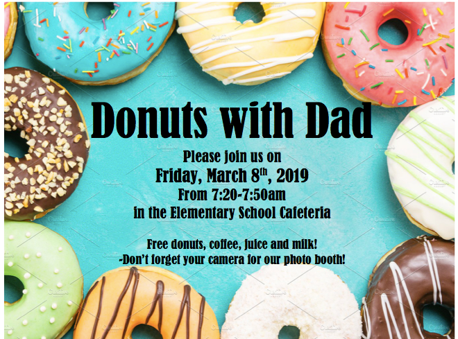 Donuts with Dad March 2019