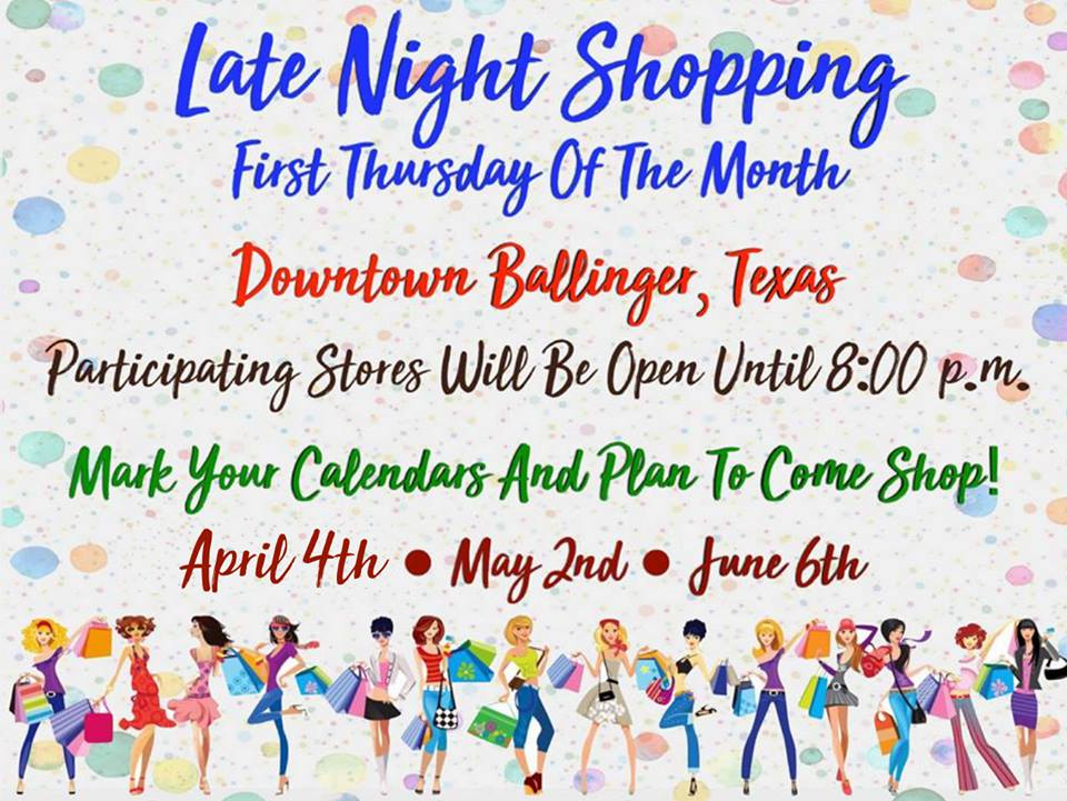 Late Night Shopping - Ballinger
