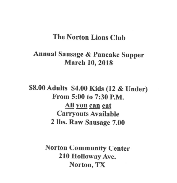 Norton Pancake Breakfast