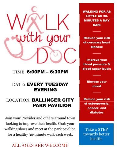 WALK WITH DOC